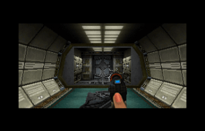Corridors are repetitive, but do (thankfully) change depending on your location in the ship