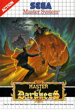 Unlike many Master System games, Master of Darkness had some pretty bad-ass cover art.