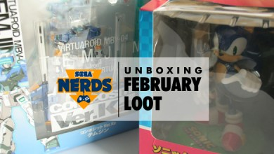 SEGA Nerds February Loot