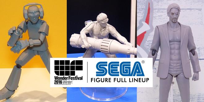 SEGA Wonfes 2016 Winter lineup