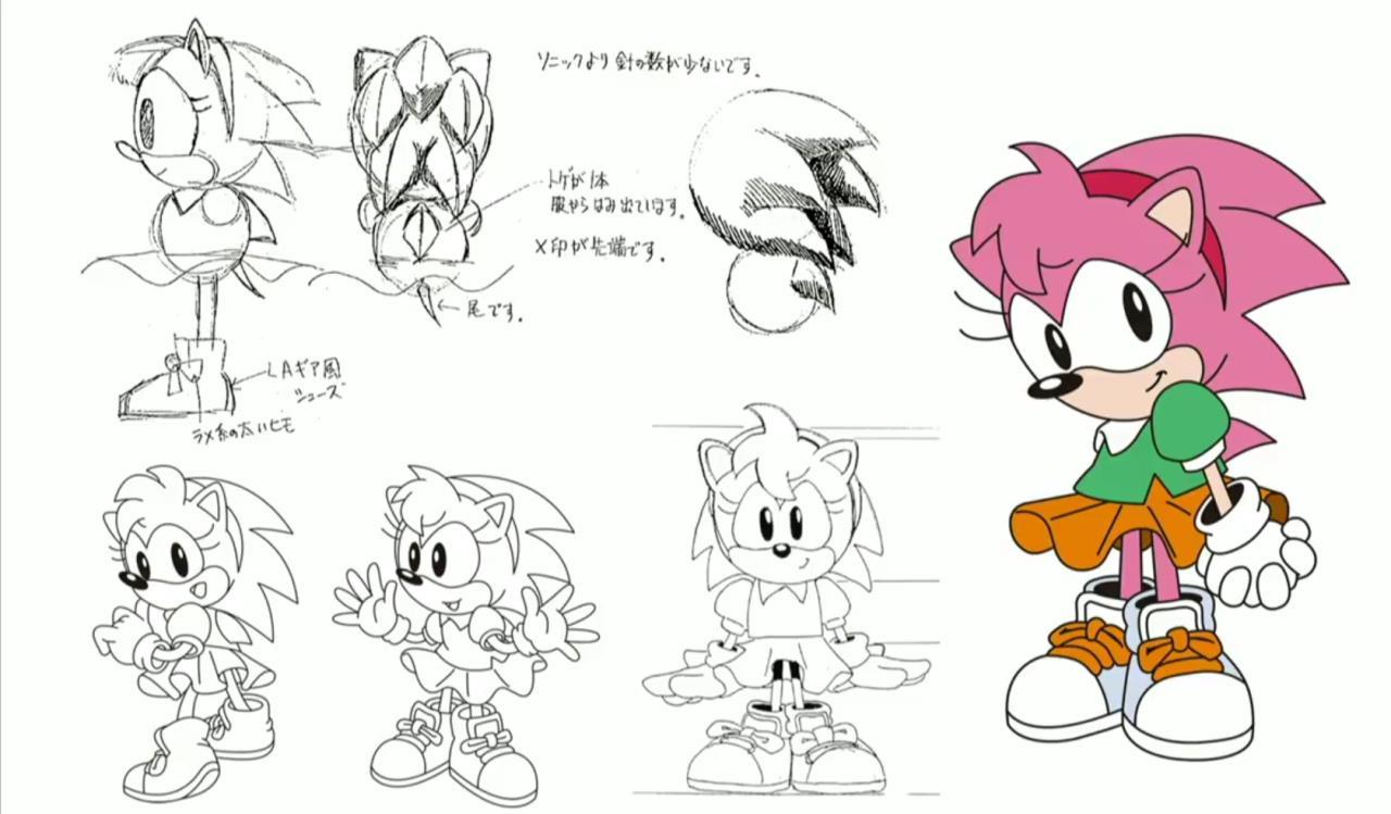 sega revealed some classic concept art from the sonic series sega