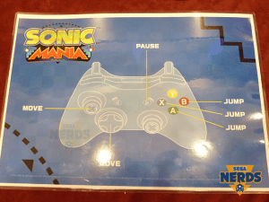 ...the controls for Sonic Mania as a comparison. I'll let you decide which you prefer.