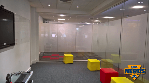 One of Hardlight's meeting/breakout rooms