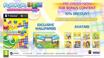 Puyo Puyo Tetris PC - Bonus