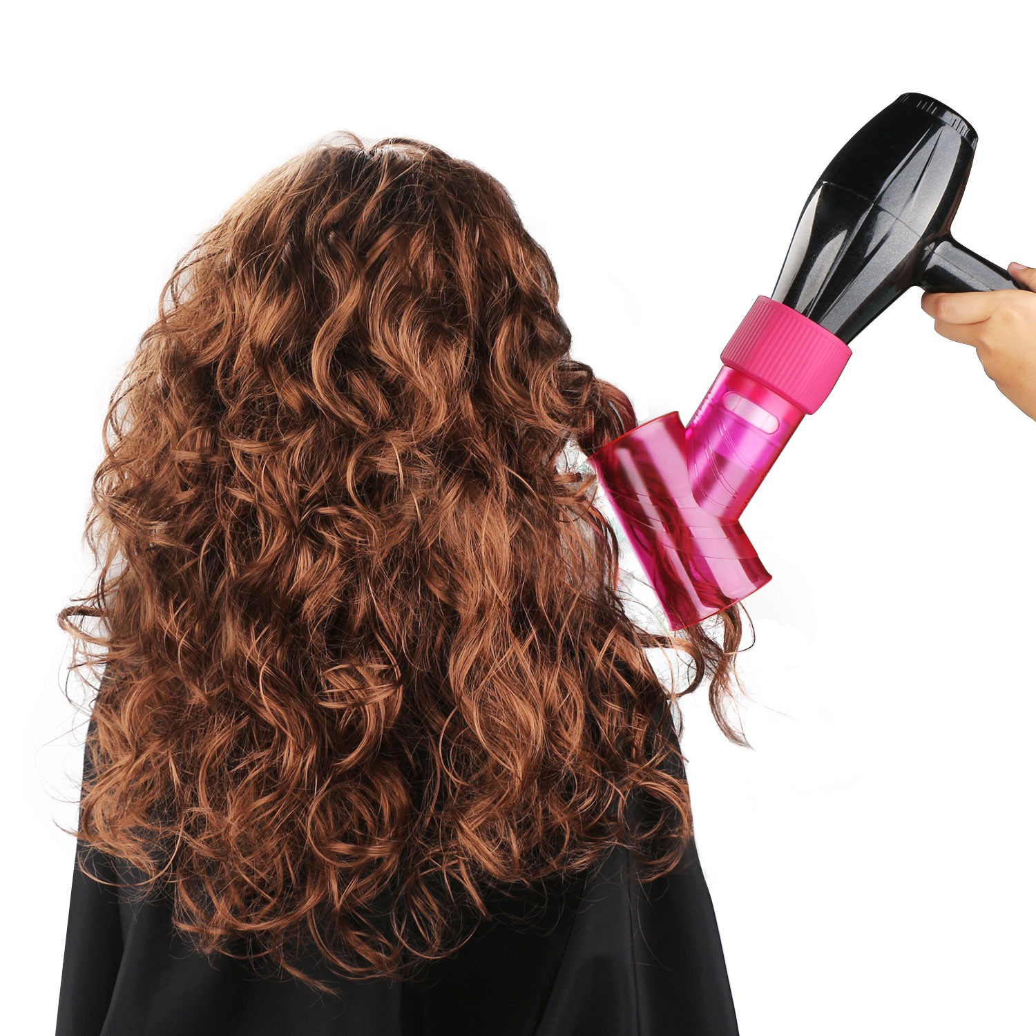 Segbeauty Wind Spin Hair Dryer Diffuser For Curly Wavy