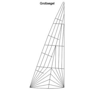 Produktbild Nordisch Folkeboot Großsegel