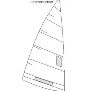 Produktbild Pirat Regatta Großsegel Horizontal