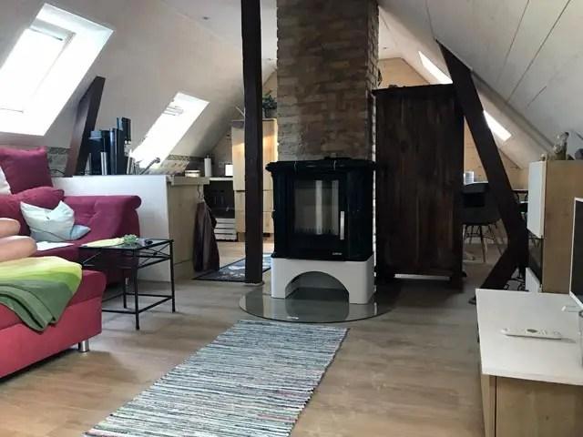 Innenansicht vom Apartment in Wendorf