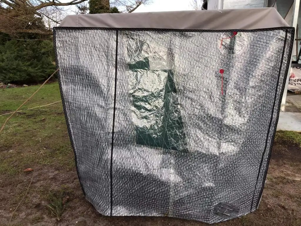 Wetterschutzhaube Outdoor Tischtennisplatte 005