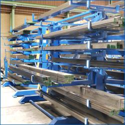 rack a tube stockage tubes et barres