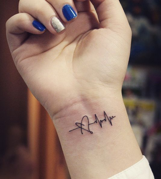 Heartbeat Tattoo Ideas For Men