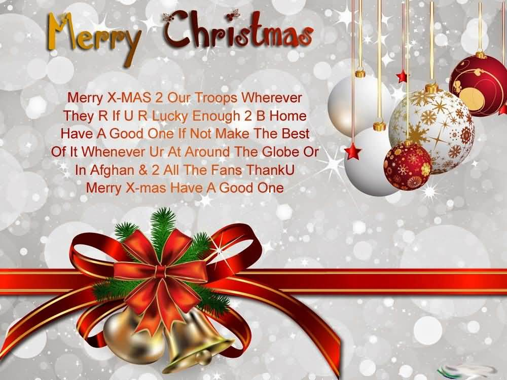 40 Beautiful Merry Christmas Greetings Amp Wishes