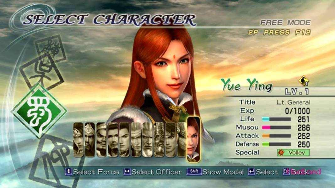 download game Dynasty Warriors 6 iso