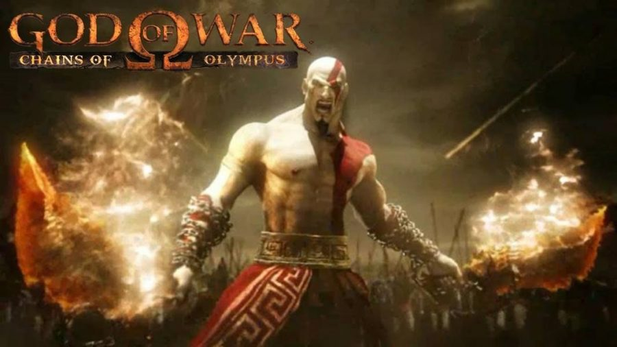 download game God of War Chains of Olympus iso