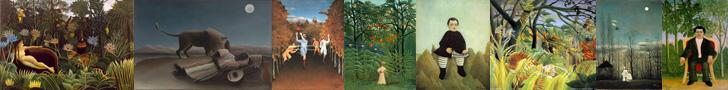 Henri Rousseau - French Naïve Post-Impressionist