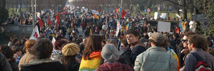 manifestazione Vicenza 17.2.07