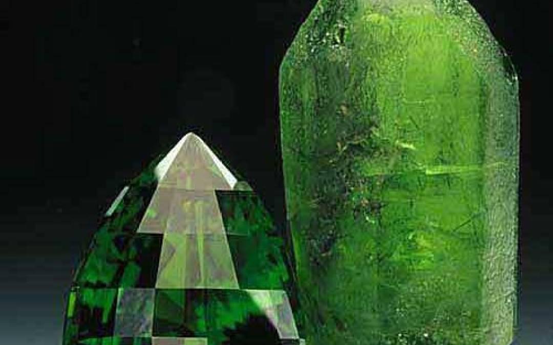 Il Peridoto, la pietra dello spazio