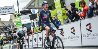 Van den Berg takes our second in a row in Tour de Bretagne