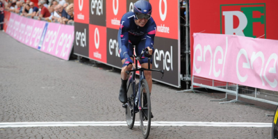 Edo Affini wins the prologue and is the first leader of the Giro U23