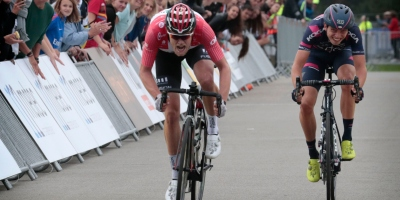 Ide Schelling sprints to second in Olympia's Tour opener