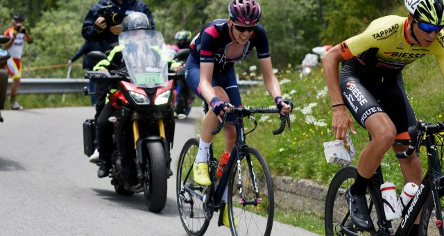 Arensman takes 6th in the Mortirolo stage