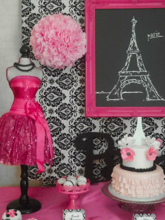 Festa tema Paris top 10  Segredos da Vov  Segredos da