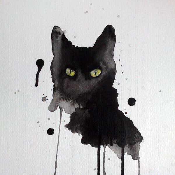 4474b7528af12 Sonhar com gato preto