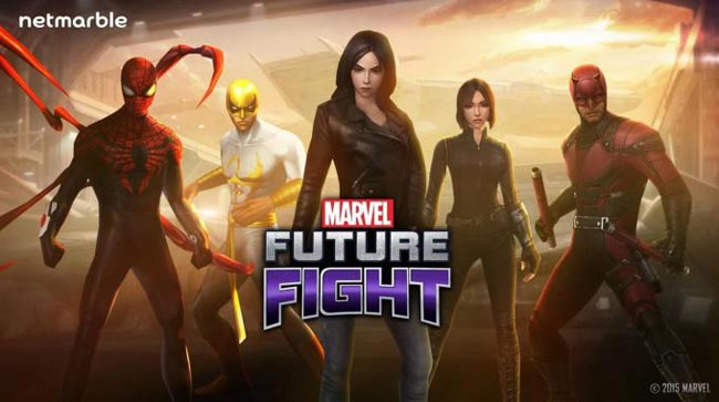 Marvel Future Fight, free Android game.