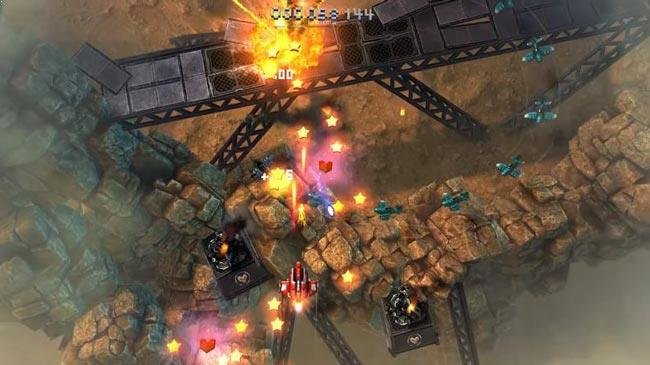 Best free Android games, Sky Force Reloaded.