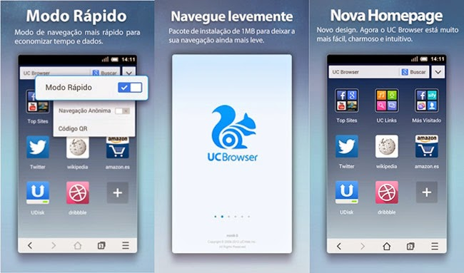 UC Browser Mini.
