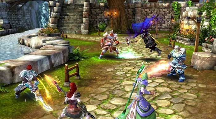 Melhor jogo multiplayer para Android, Order & Chaos 2: Redemption.