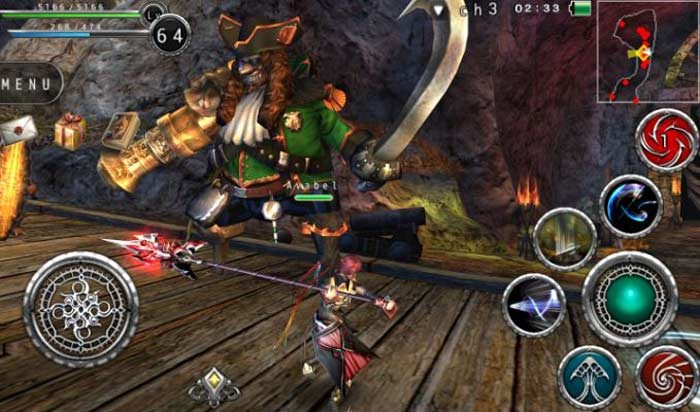 Melhores MMORPGs para o Android, Avabel Online.