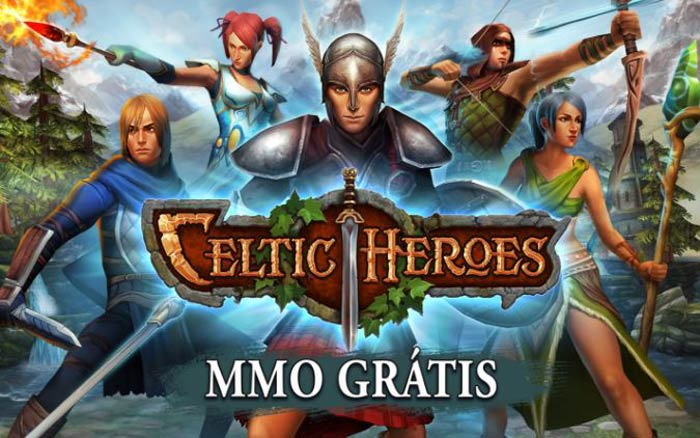 Melhores MMORPGs para o Android, 3D MMO Celtic Heroes.