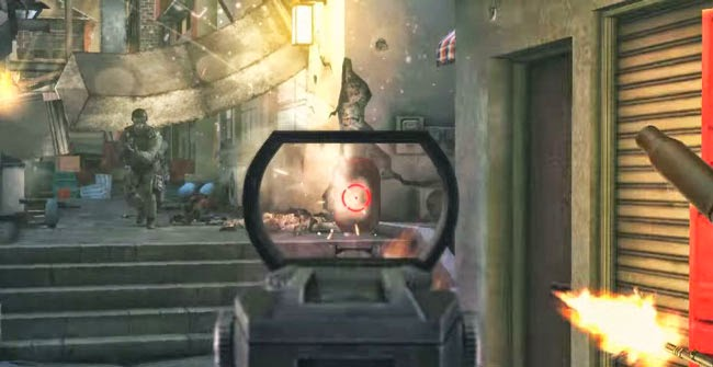 Modern Combat 5: Blackout, best free Android game.