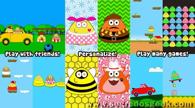Pou for Android free.