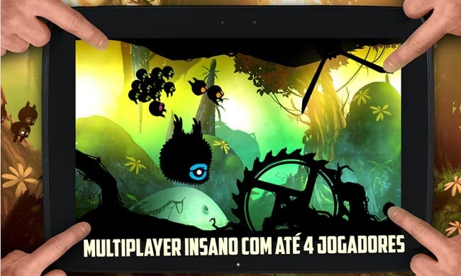 jogo multiplayer para Android BADLAND.