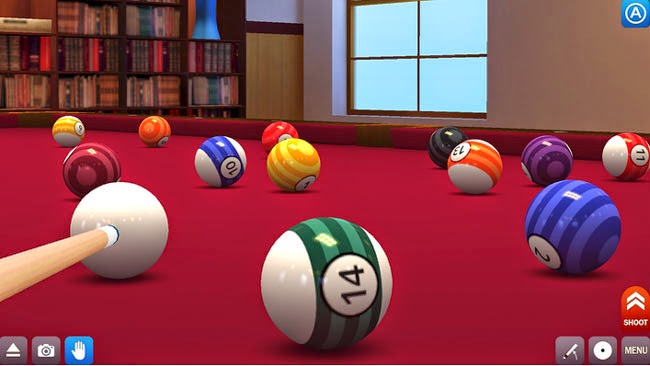 jogo multiplayer para Android Pool Break Pro.