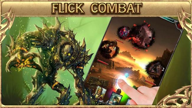 Jogo multiplayer para Android HellFire: The Summoning.