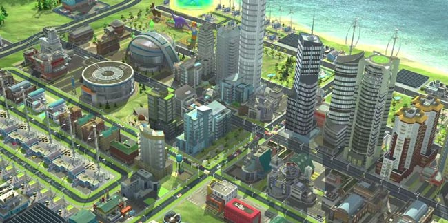 Jogo multiplayer para Android SimCity BuildIt.