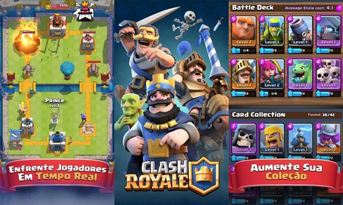 Best free game for Android, Clash Royale.