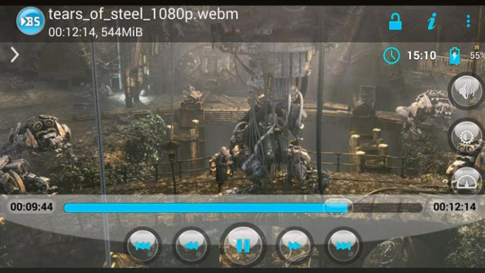 Melhores players de video para Android, BSPlayer FREE