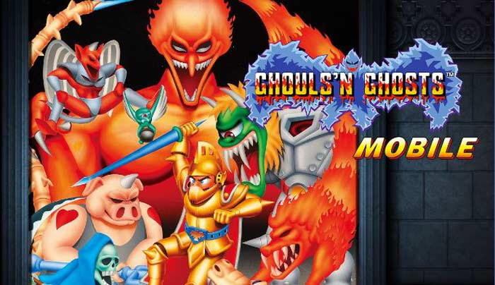 Melhores jogos Android, Ghouls'n Ghosts MOBILE.