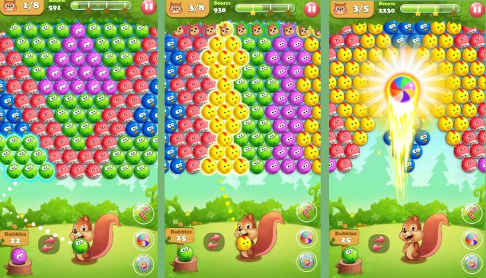 Bubble Shooter 2, best ball popping games for Android.