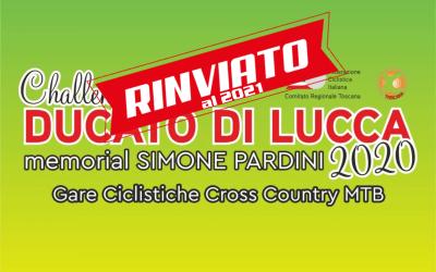 """Challange """"Ducato di Lucca"""" rinviato al 2021!"""