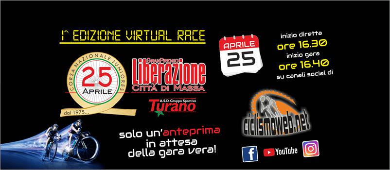 GP Liberazione Città di Massa 1^ edizione della Virtual Race!