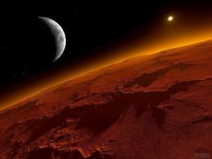 Dalla sonda Mars Express immagini straordinarie dei fiumi di Marte