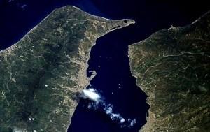Scoperte nuove faglie attive nello stretto di Messina