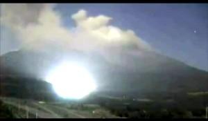 Possibile stargate presente sul vulcano Sakurajima