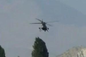 Elicottero militare cileno cerca di intercettare un UFO