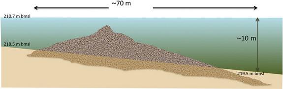 Scoperta una misteriosa struttura circolare sul fondo del Mare di Galilea